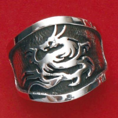 Anel de Dragão - 15624  - Magia das Joias