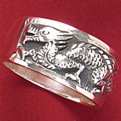 Anel de Dragão - 4572  - Magia das Joias