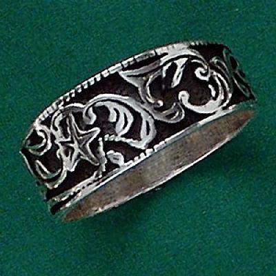 Anel de Galhos - 15208  - Magia das Joias