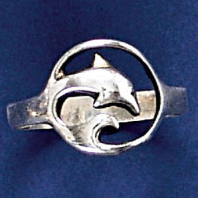 Anel de Golfinho - 93128  - Magia das Joias