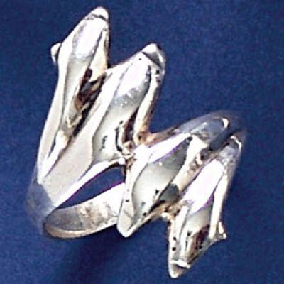 Anel de Golfinhos - 9304  - Magia das Joias