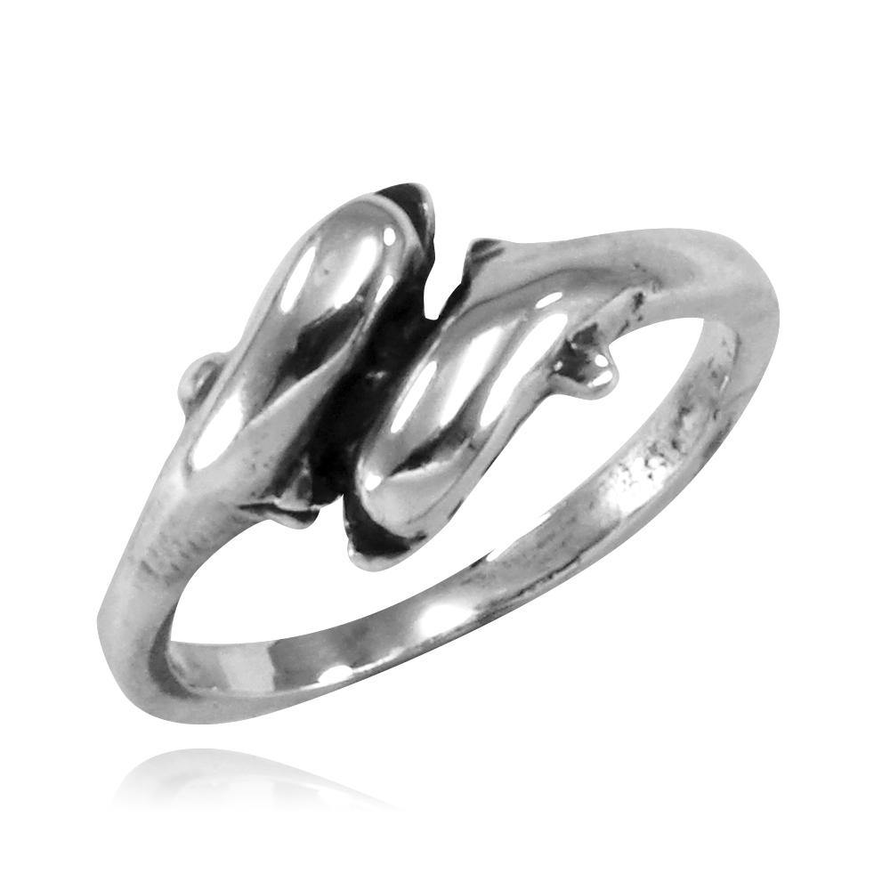 Anel de Golfinhos - 9375  - Arte Ativa