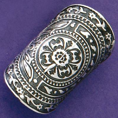 Anel de Mandala Flor - 15673  - Magia das Joias