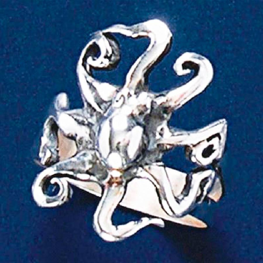 Anel de Polvo - 93134  - Magia das Joias