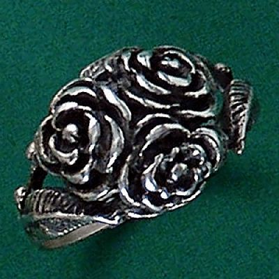 Anel de Rosas - 15201  - Magia das Joias