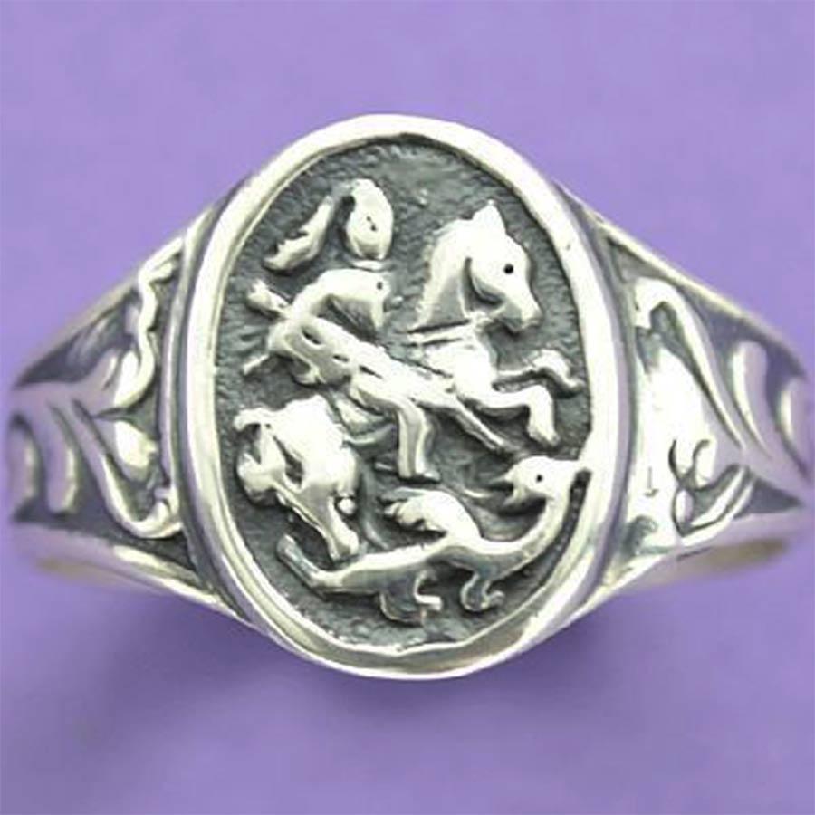 Anel de São Jorge - 15248  - Magia das Joias
