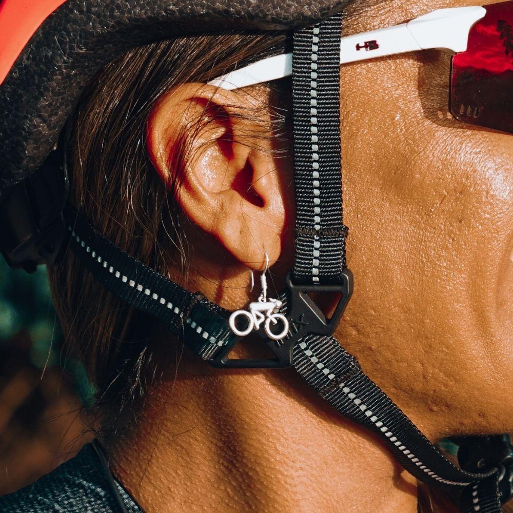Brinco de Bicicleta Ciclista Mulher Bike - 94393  - Arte Ativa