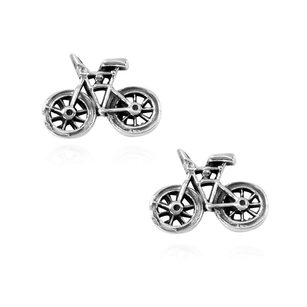 Brinco de Bicicleta Pequena Bike - 94433  - Magia das Joias