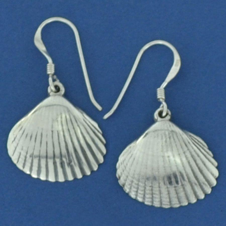 Brinco de Concha do Mar em Prata 950 - 94464  - Arte Ativa