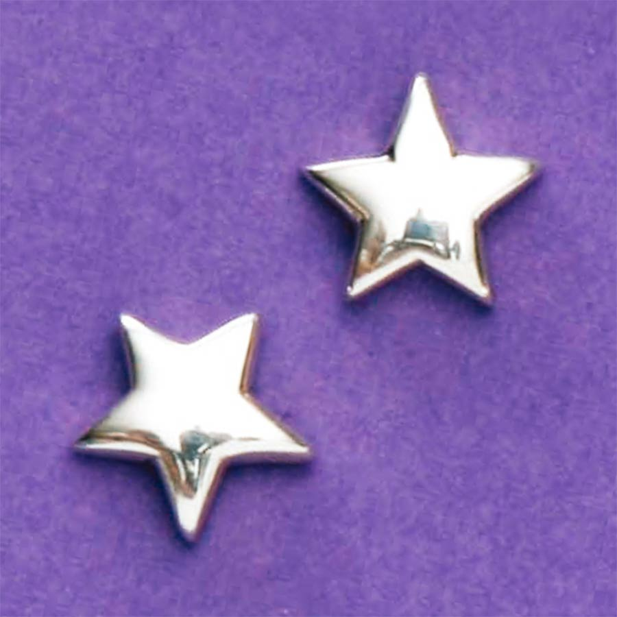 Brinco de Estrela - 3668  - Magia das Joias