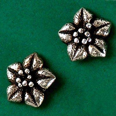 Brinco de Flor - 2343  - Magia das Joias