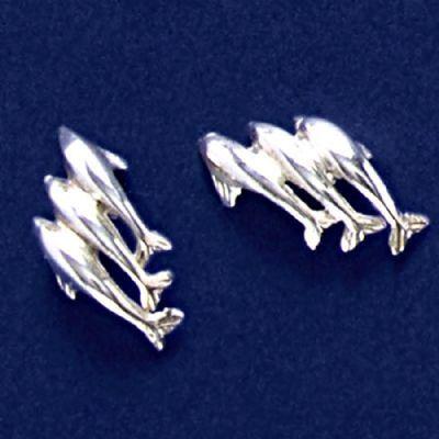 Brinco de Golfinhos - 94152  - Magia das Joias