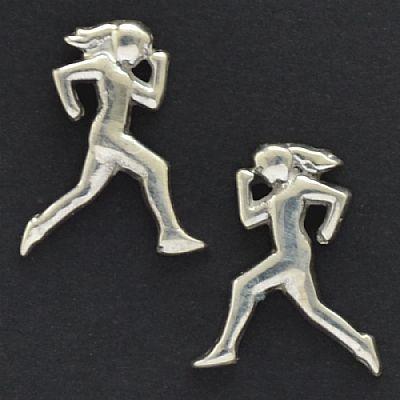 Brinco de Maratonista Corredora Mulher - 94400  - Magia das Joias