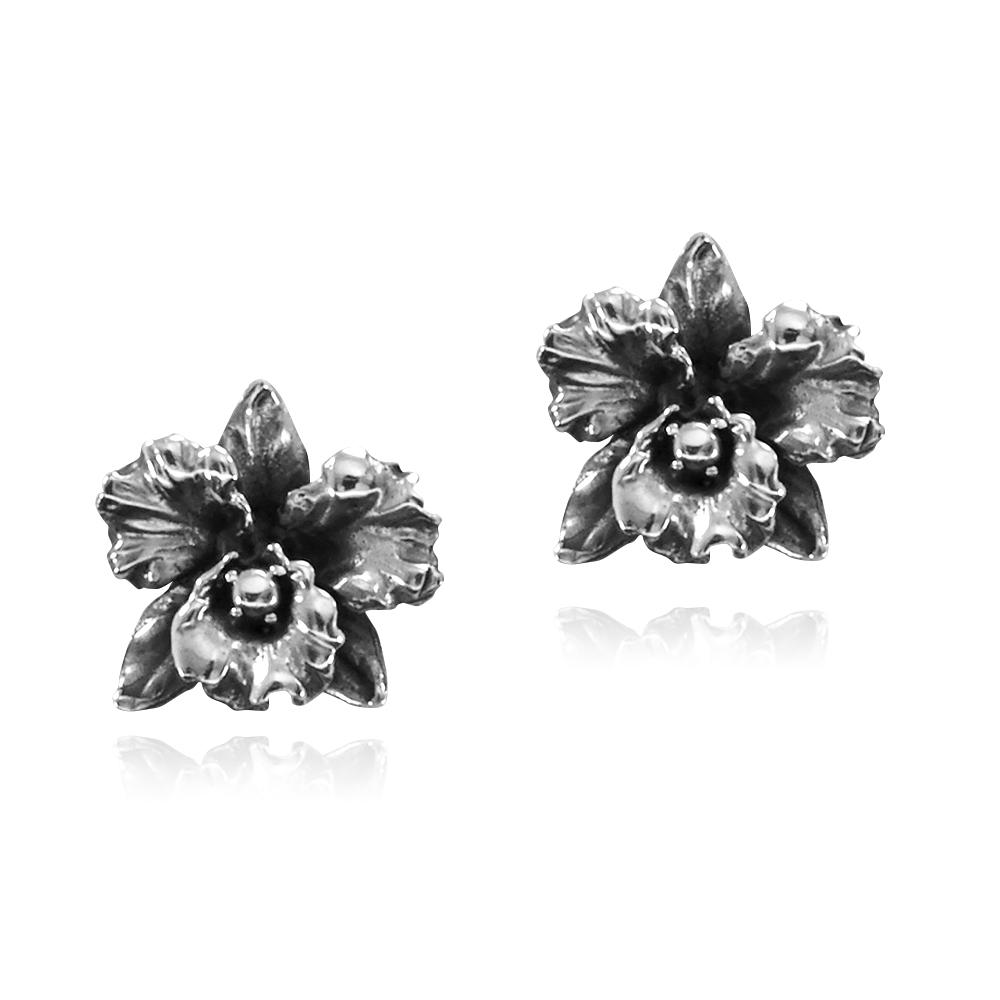 Brinco de Flor Orquídea - 3639