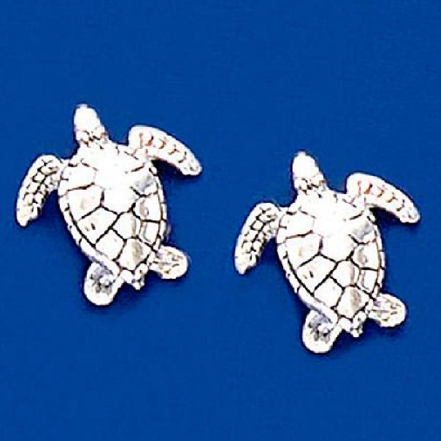 Brinco de Tartaruga Marinha Md - 9479  - Magia das Joias