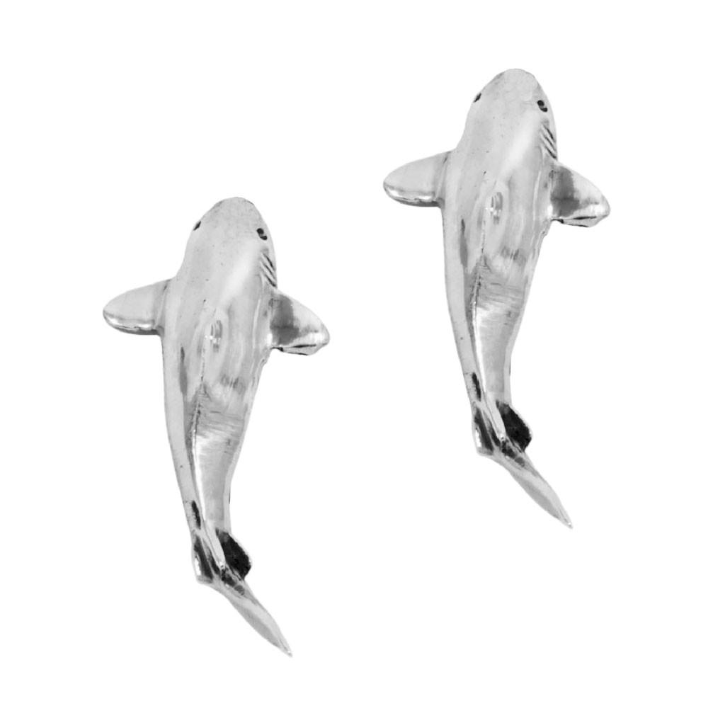 Brinco de Tubarão - 9451  - Magia das Joias