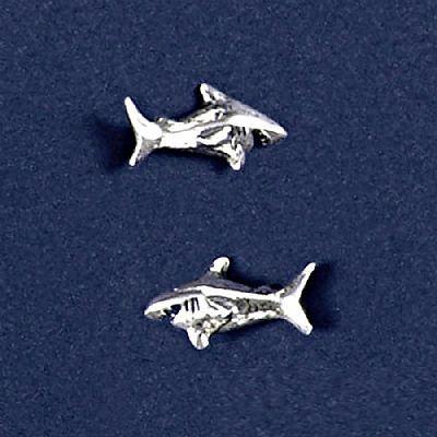 Brinco de Tubarão Pequeno - 94131  - Magia das Joias