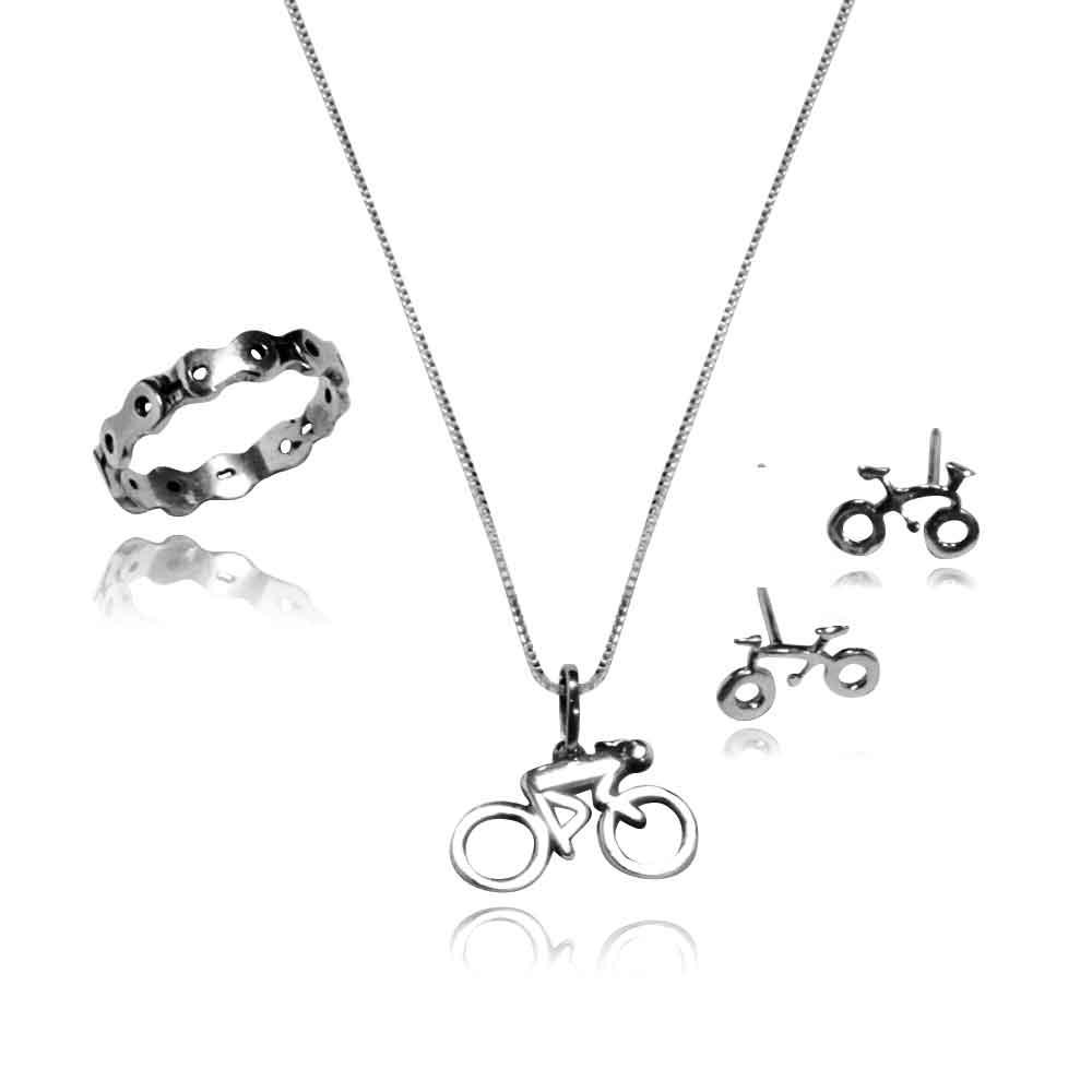 Bicicleta Bike Ciclista Conjunto - A - 4000