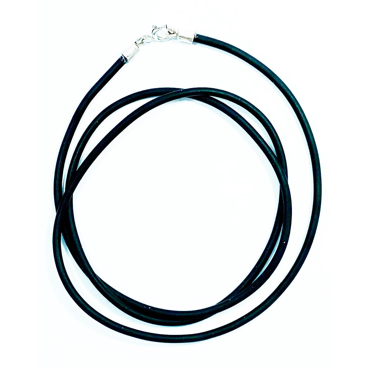 Cordão para Pingente em Borracha 60cm - 51020  - Magia das Joias