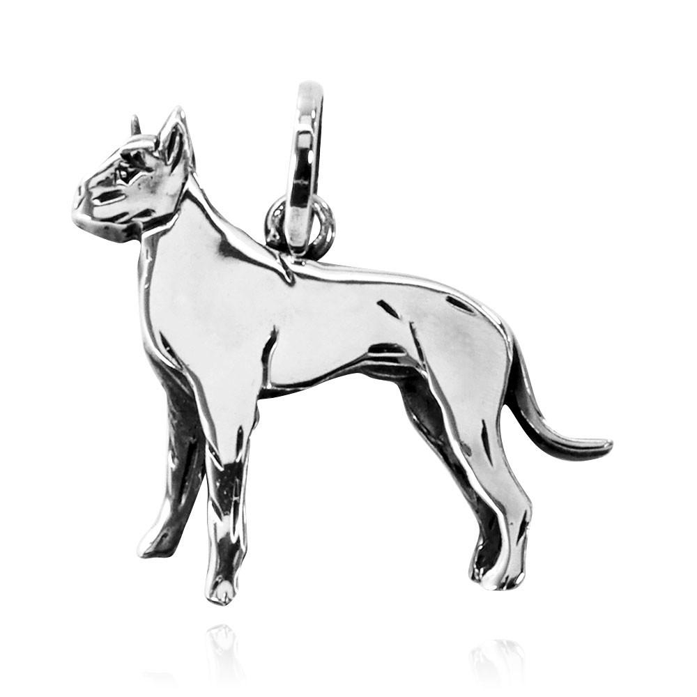 Pingente Cachorro Dog Alemão - 95459  - Magia das Joias