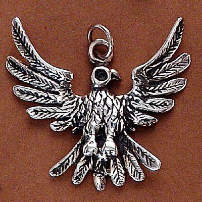 Pingente de Águia - 2659  - Magia das Joias