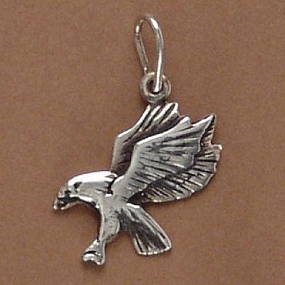 Pingente de Águia - 9594  - Arte Ativa