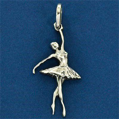 Pingente de Bailarina Clássica Balé Dança - 9643  - Magia das Joias