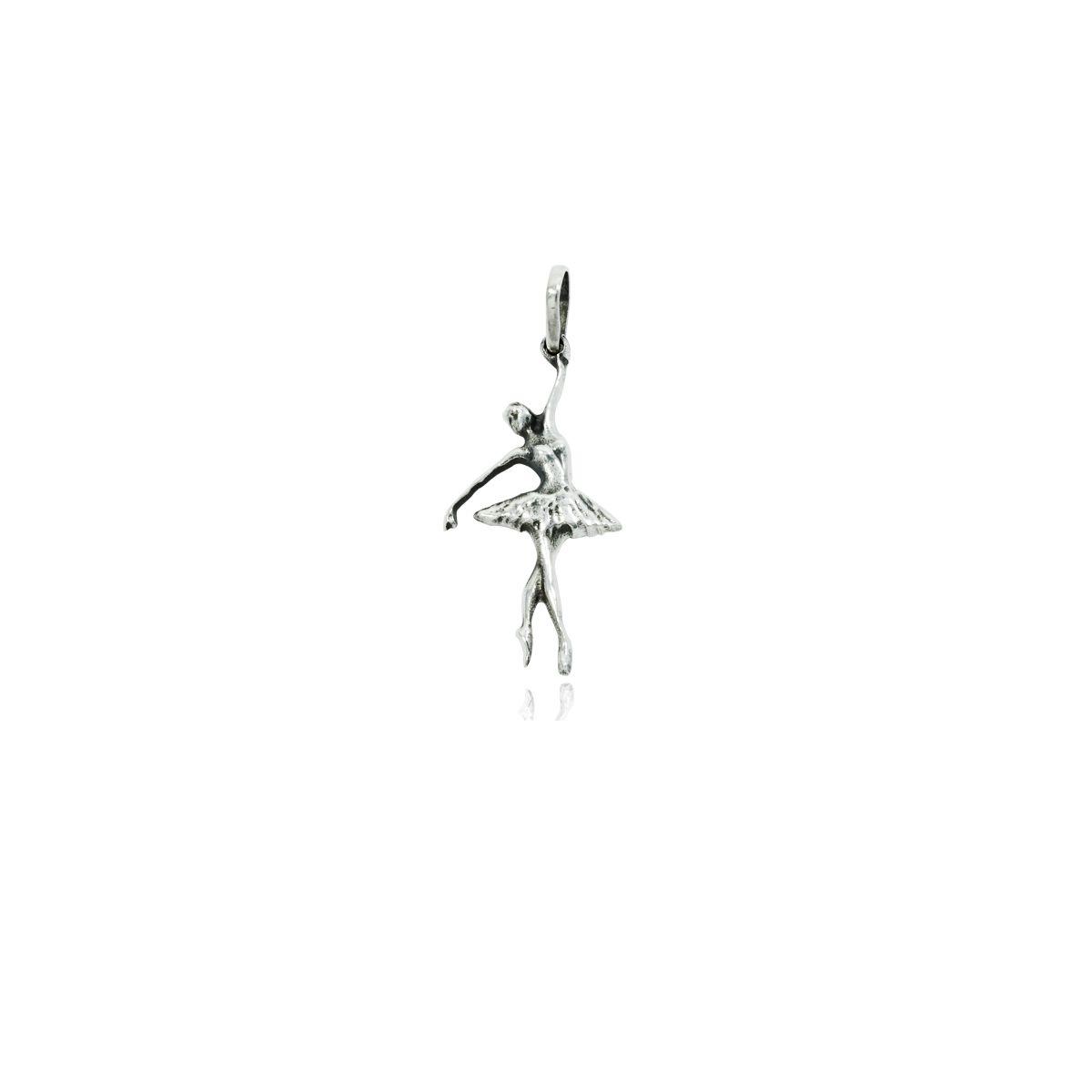 Pingente de Bailarina Clássica Balé Dança - 9643