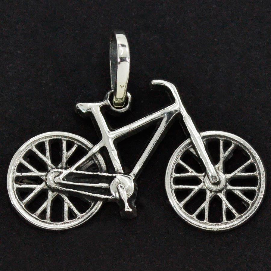 Pingente de Bicicleta - 9742  - Magia das Joias