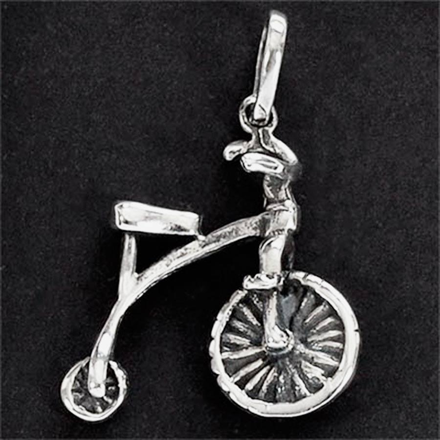 Pingente de Bicicleta Bike Antiga Drasiana - 9700  - Magia das Joias