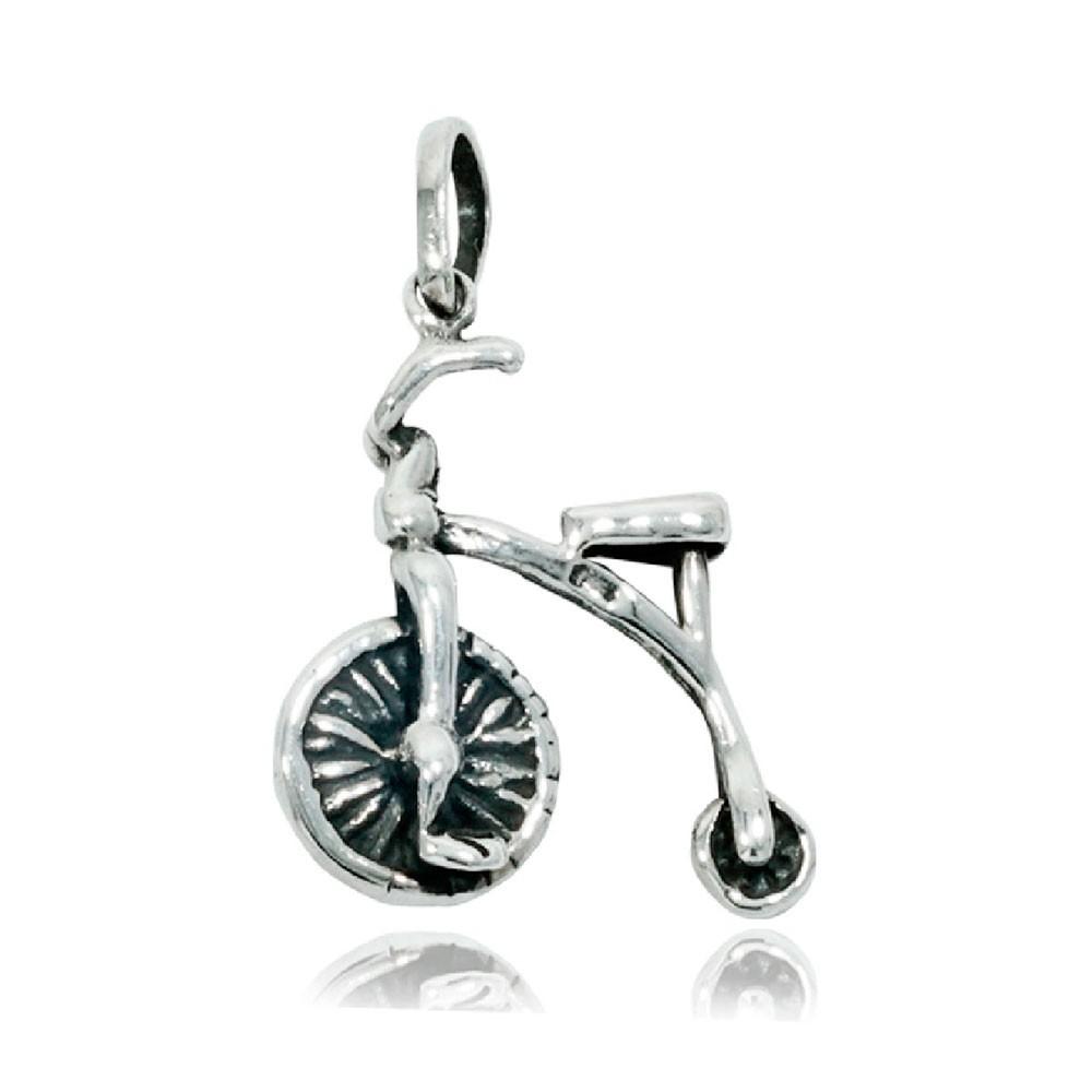 Pingente de Bicicleta Bike Antiga Drasiana - 9700  - Arte Ativa