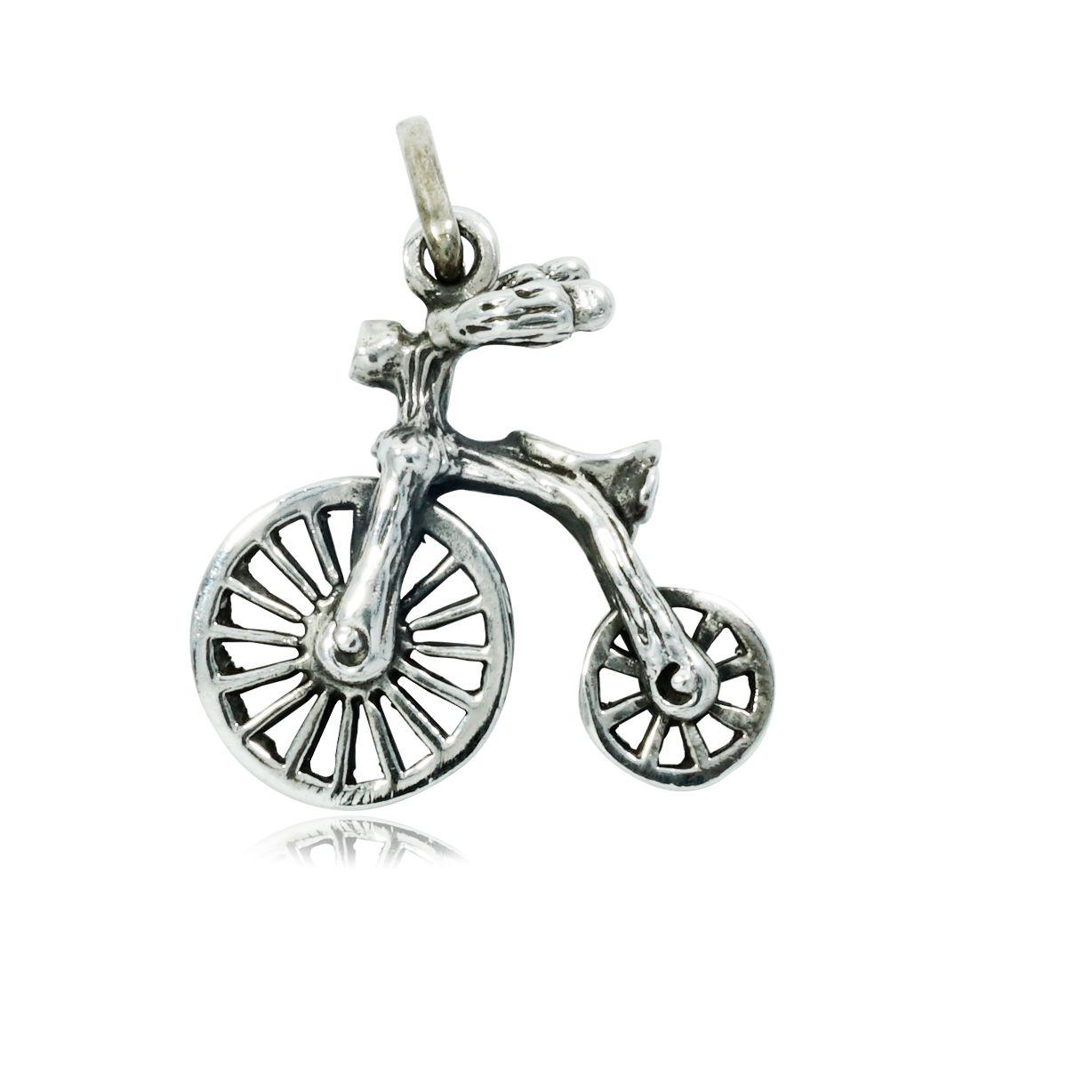Pingente de Bicicleta Draisiana Antiga - 9725