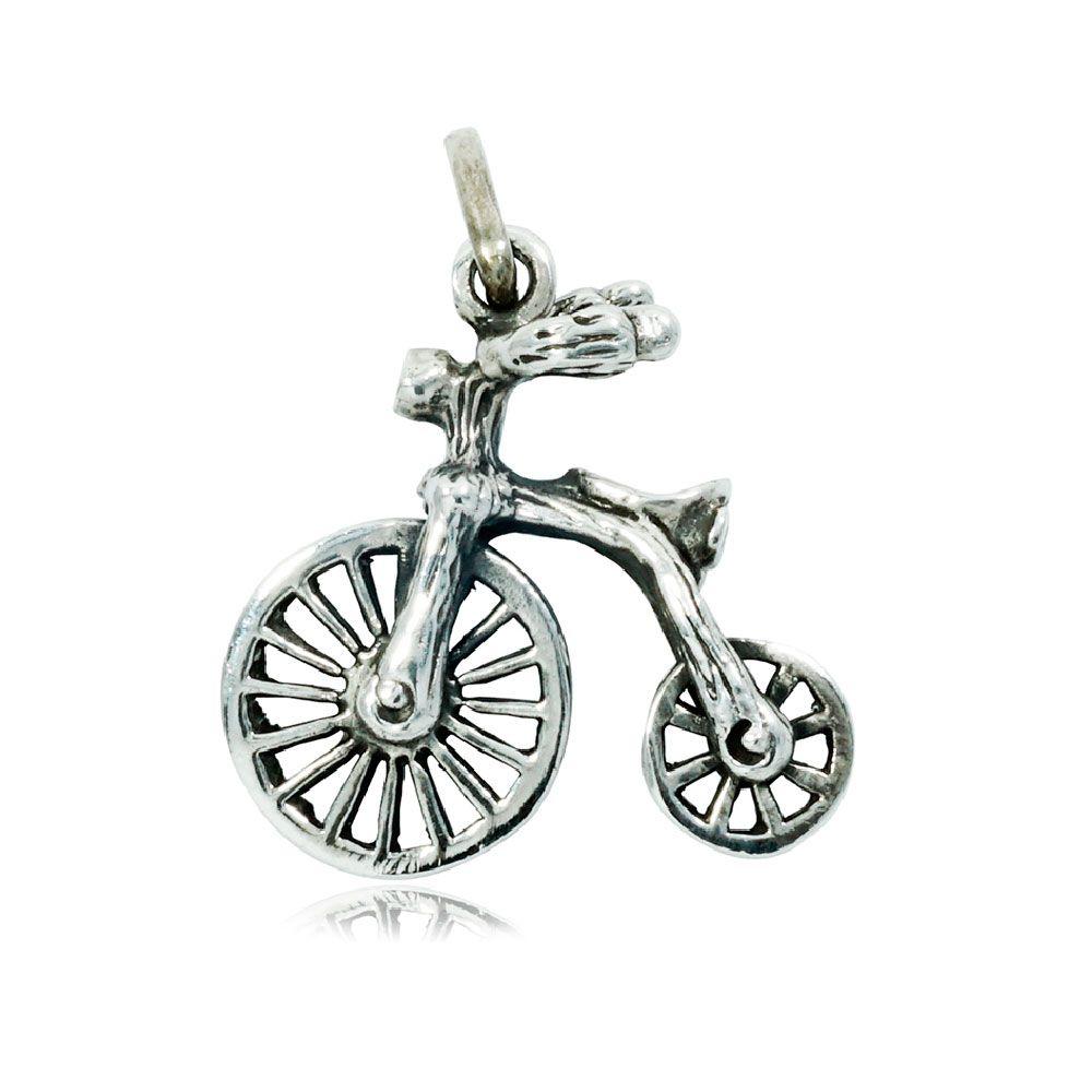 Pingente de Bicicleta Draisiana Antiga - 9725  - Arte Ativa