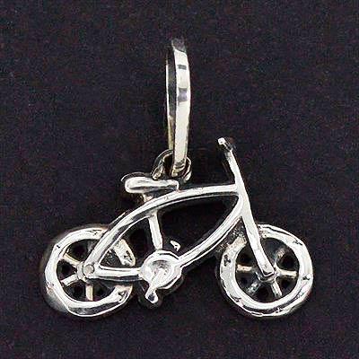 Pingente de Bicicleta Infantil - 9690  - Magia das Joias
