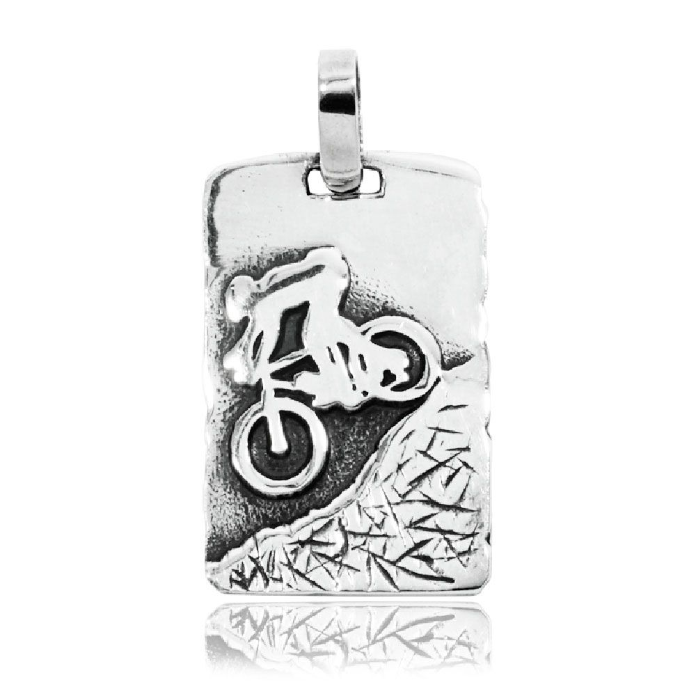 Pingente de Bicicleta Montain Bike Competições - 95894  - Magia das Joias