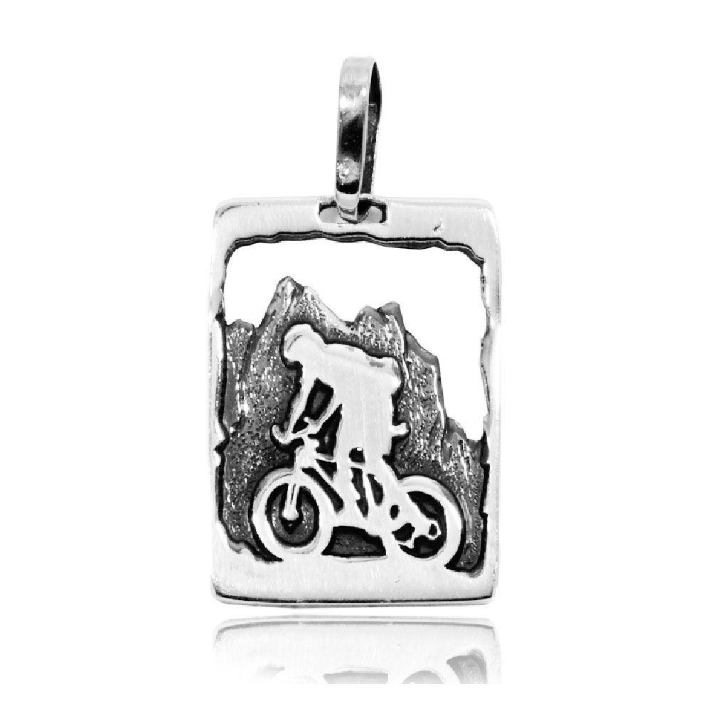 Pingente de Bicicleta Montain Bike Dowhill - 95895  - Arte Ativa