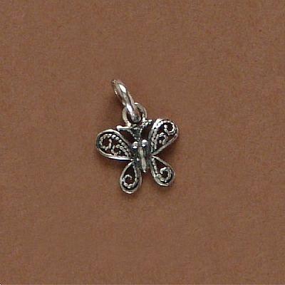 Pingente de Borboleta Pequena em prata 950 - 95302  - Magia das Joias