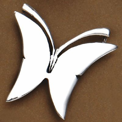 Pingente de Borboleta - 95389  - Magia das Joias