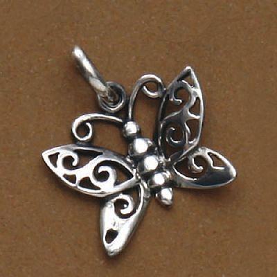 Pingente de Borboleta - 95662  - Magia das Joias