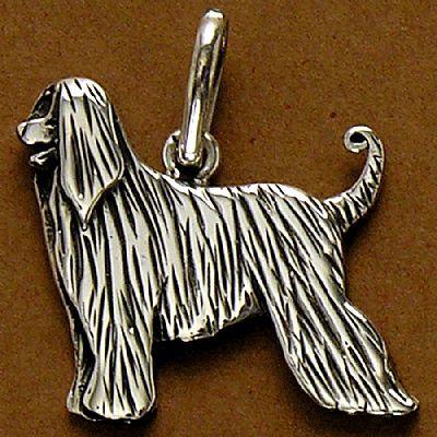 Pingente de Cachorro Afghan Hound - 95436