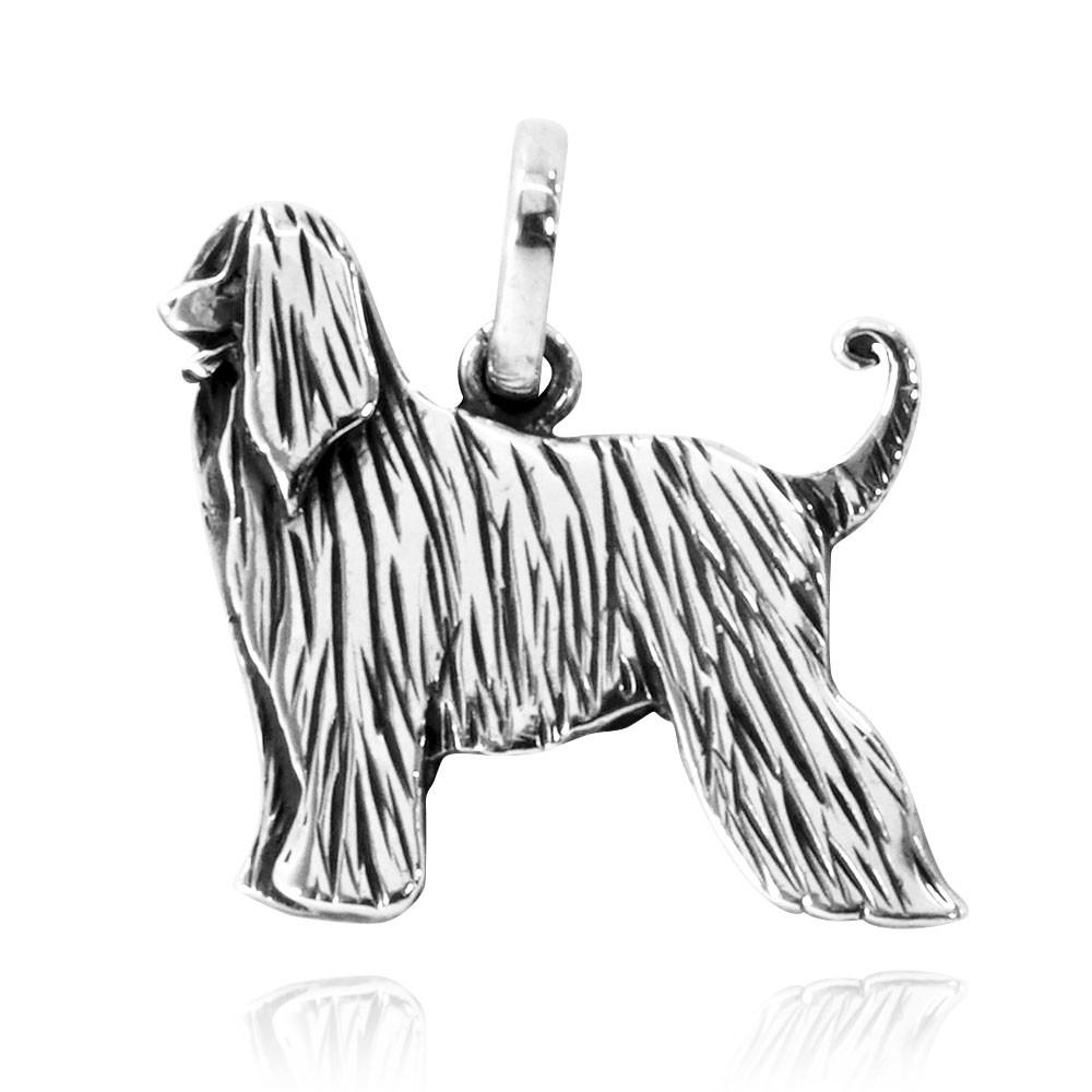 Pingente de Cachorro Afghan Hound - 95436  - Arte Ativa