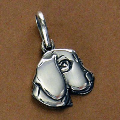 Pingente de Cachorro Beagle - 95470  - Magia das Joias