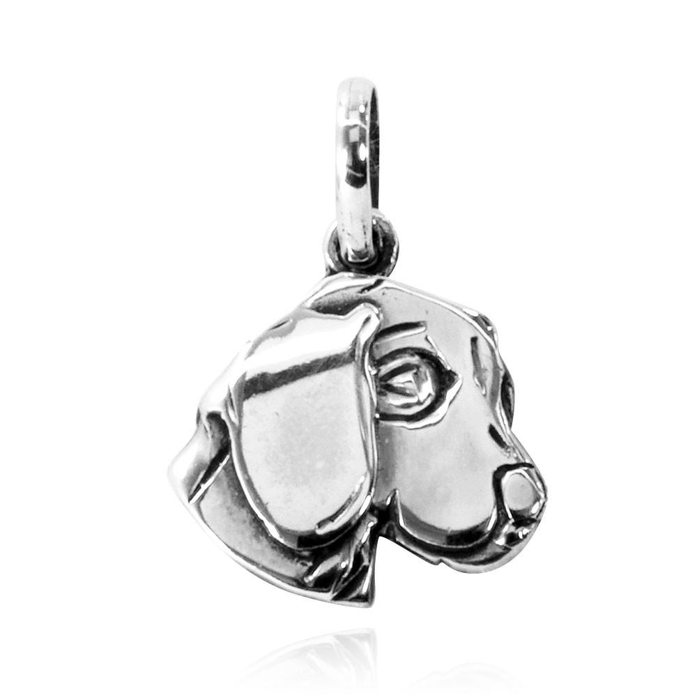 Pingente de Cachorro Beagle Cabeça - 95470  - Arte Ativa
