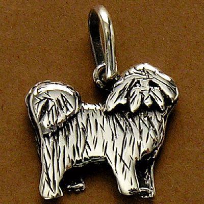Pingente de Cachorro Bolognese - 95449  - Magia das Joias