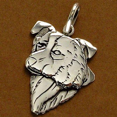 Pingente de Cachorro Border Collie - 95441  - Magia das Joias