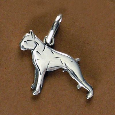 Pingente de Cachorro Boxer - 95454  - Magia das Joias