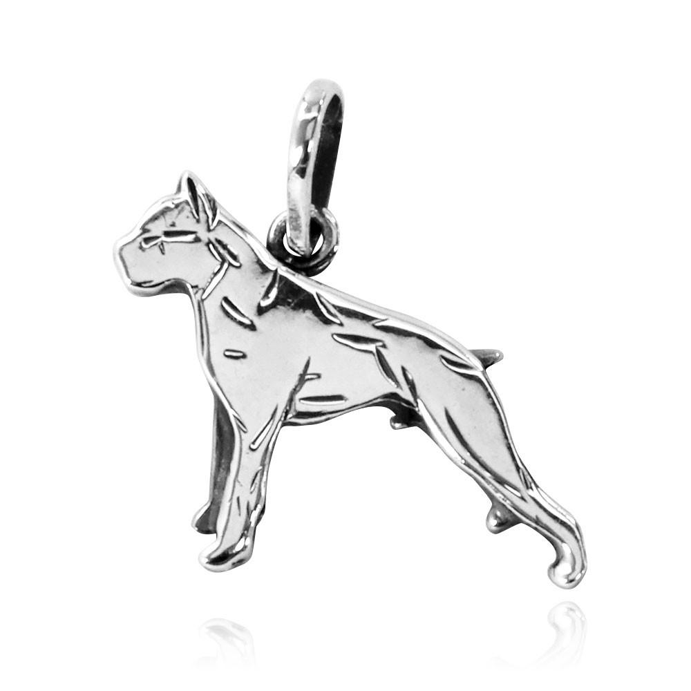 Pingente de Cachorro Boxer - 95454  - Arte Ativa