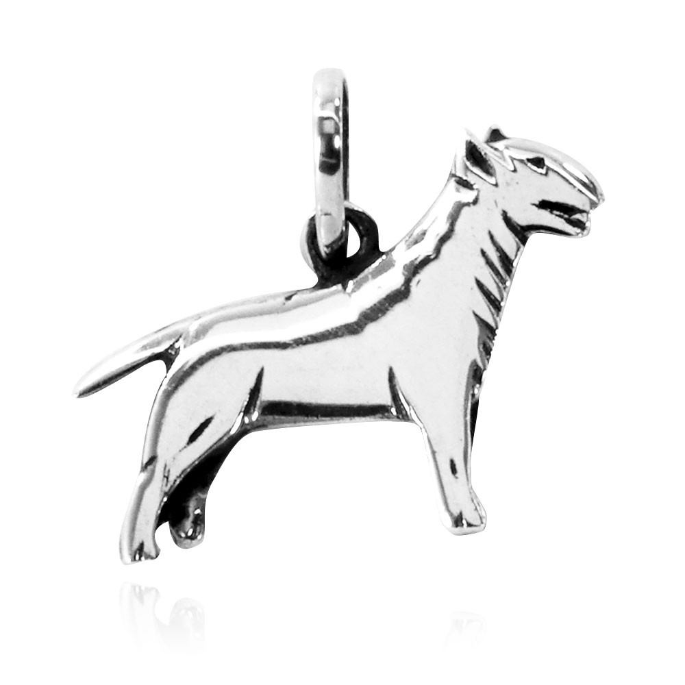 Pingente de Cachorro Bull Terrier - 95444  - Magia das Joias