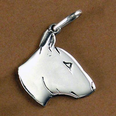 Pingente de Cachorro  Bull Terrier - 95466  - Magia das Joias