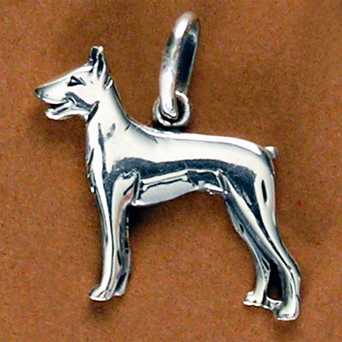 Pingente de Cachorro Dobermann - 95465